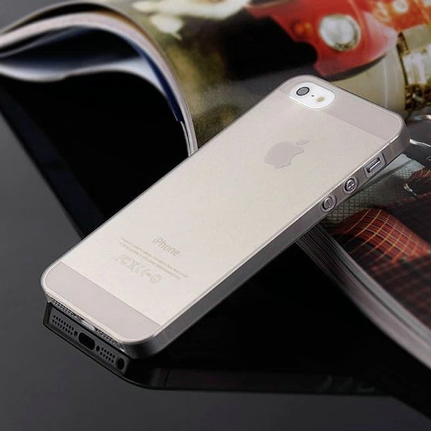 For Iphone 7 Case Ultra Thin Phone Cases For Apple IPhone 7 7 Plus 6 6S Plus 5 5S SE 5C 4 4S Case Matte Cover Plastic Coque