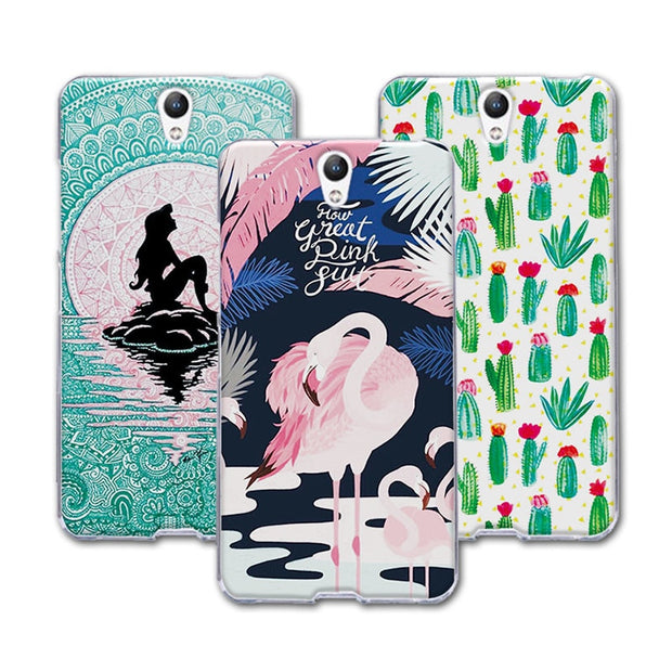 buy popular 22778 db32e For Lenovo Vibe S1 Case Cover Mermaid Painting Soft TPU Case For Lenovo S1  S 1 Phone Protective For Lenovo Vibe S1 S1C50 S1A40