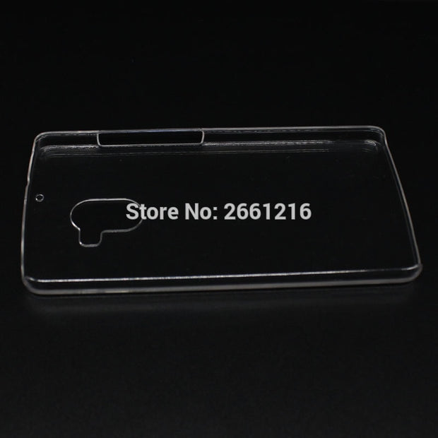 For Lenovo X3 Lite Hard PC Case Ultra Thin Clear Hard Plastic Cover Protective Skin For Lenovo K4 Note / Vibe X3 Lite A7010 5.5""