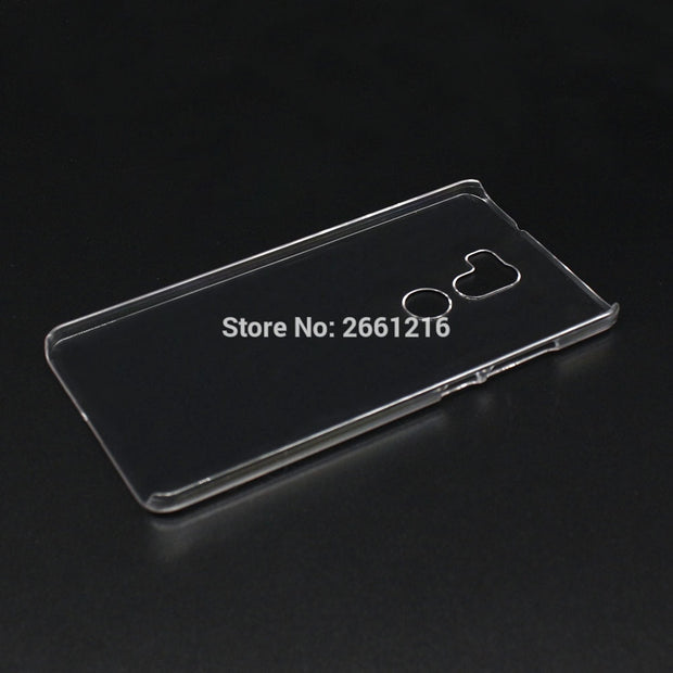 For Mi 5S Plus Hard PC Case Ultra Thin Clear Hard Plastic Cover Protective Skin For Xiaomi 5S Plus 5.7 Inch