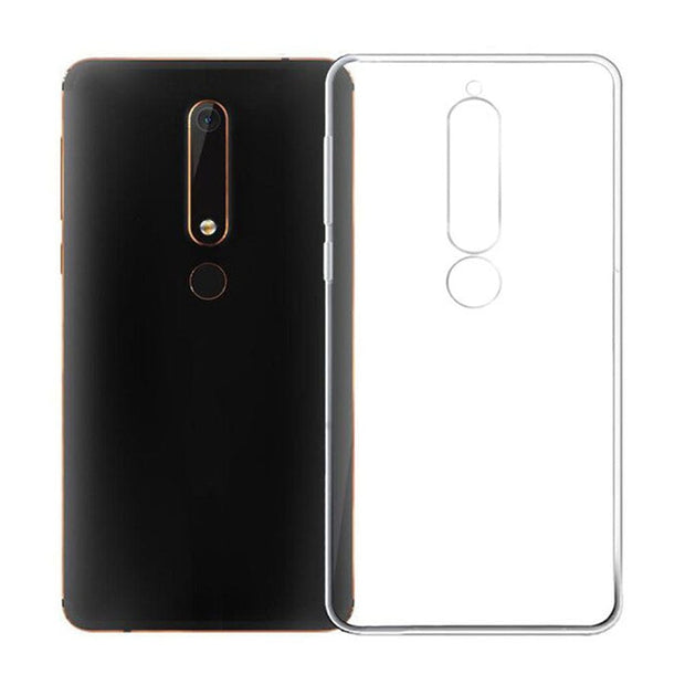 For Nokia 6.1 Case Nokia 6 2018 Case Clear Soft Silicone Back Cover Phone Case Nokia6(2018)TA-1068 TA-1050 TA-1043 TA-1045 Case