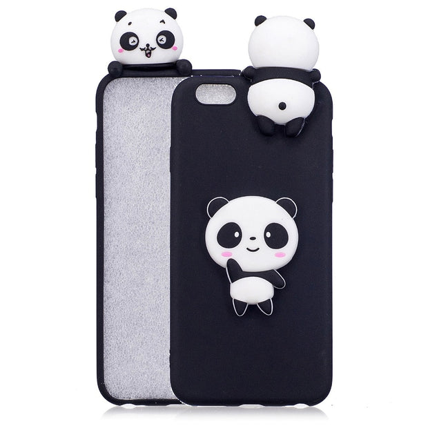 7f18a29c7c For OPPO A59 A37 Case 3D Cute Cartoon Panda Bears Fundas Cases For OPPO A57  A77