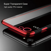 For OPPO A83/A1 F7 F5/A73 FIND X Mobile Phone Case For Vivo V9/Y85/Z1 Transparent Anti Break Soft TPU Electroplate Silicone Case
