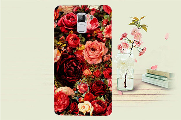 For Oukitel U13 Case, 14 Colors High Quality Fashion Flower Tiger Owl Towers Protective Case For Oukitel U13 Cover Phone Bag