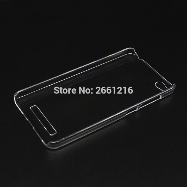 For Redmi 4A Hard PC Case Ultra Thin Clear Hard Plastic Cover Protective Skin For Xiaomi Redmi 4A 5.0 Inch