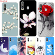 "For Samsung Galaxy A8s Case 6.4"" Fashion Floral Cute Cartoon TPU Back Cover For Samsung A8S A8 S Case Soft Silicone Protect Case"