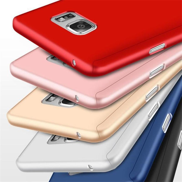 100% authentic 42fb1 47ed6 For Samsung Galaxy C9 PRO C7 PRO Case 360 Full Cover For Samsung Galaxy C7  C9 Cover Matched Tempered Glass Back Phone Shell