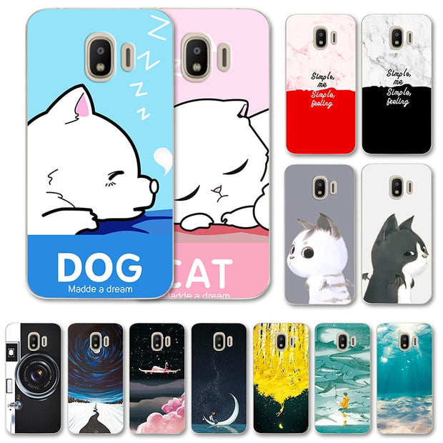 For Samsung Galaxy J2 Pro 2018 Sm-J250F Case Cover Cool Styles Various Capa  For Samsung Galaxy J2Pro 2018 J250F 5 0 Inch Shell