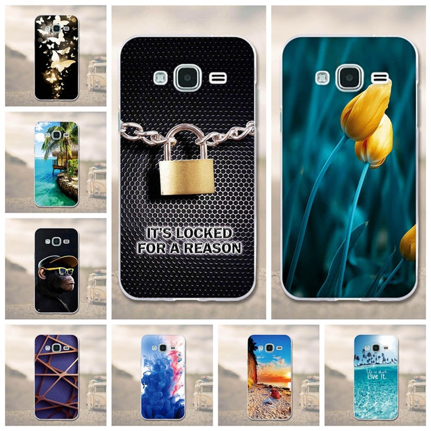 For Samsung Galaxy J3 Case Silicone Cover For Samsung J3 2016 J310F Phone Bag 3D Pattern Soft TPU Case For Samsung J3 J300F Case