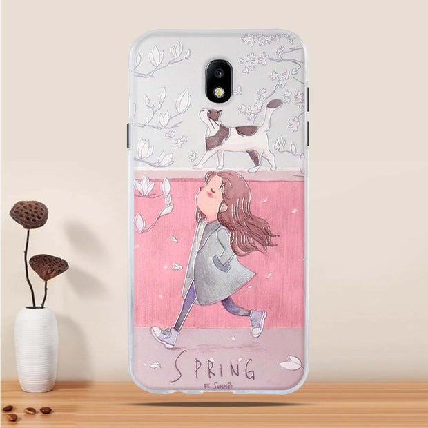 For Samsung Galaxy J7 2017 Case Silicone Covers For Samsung Galaxy