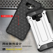 For Samsung Galaxy Note 9 Luxury Rugged Hybrid Armor Hard Shockproof TPU Silicone Phone Cover Case For Galaxy A9 Star Capa Funda