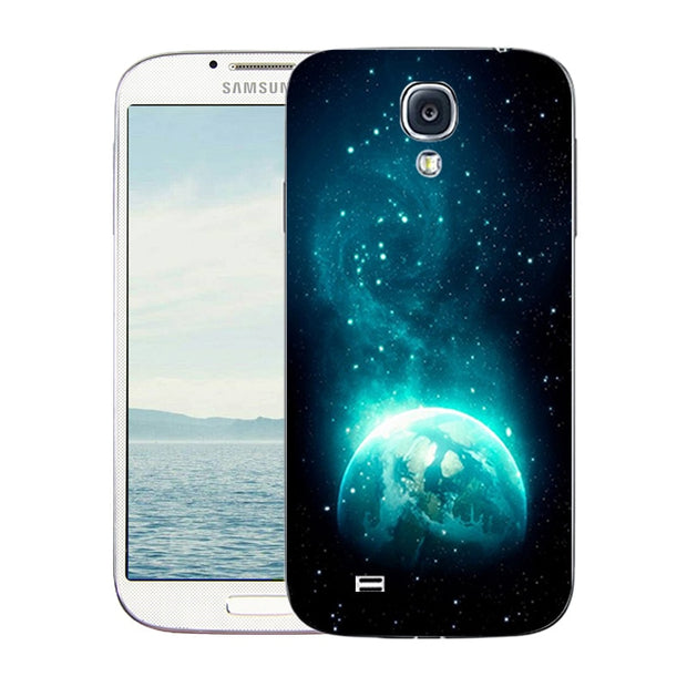 For Samsung Galaxy S4 Case Soft Silicone Cover For Galaxy S4 I9500 Multicolor Printed Coque Fundas For Samsung S4 SIV Shell