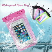 For Samsung Galaxy S6/S5/S4 5 Durable Waterproof 100% Sealed Phone Pouch Bag Underwater Case For IPhone 6/6 Plus/5S/5C/5 Colors