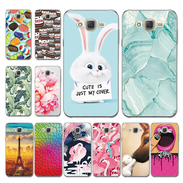 9fd58bbb5ac For Samsung J7 Neo J701F Case J7 Nxt Cover Mermaid Painted Various Silicone  Coque Fundas For