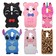 For Samsung J8 Case Cover Silicone Cute Cat Unicorn Stitch Minnie Soft Phone Case For Samsung Galaxy J8 2018 J810f SM J810 Coque
