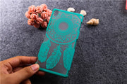 For Sony Xperia Z3 D6603 D6643 D6616 Original Patterns Painted Dream Catcher Flower Design Case Cover For Sony Z3 Case T006