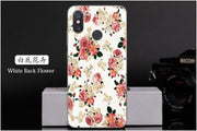 For Xiaomi Mi 8 Cases Marble Flower Flamingo Scale Unicorn TPU Phone Cartoon Painting Soft Back Cover Case For Xiaomi 8