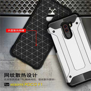 For Xiaomi Pocophone F1 Luxury Tough Rugged Hybrid Soft Silicone Shockproof Armor Phone Case Xiaomi Poco F1 Global Version F1