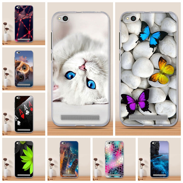For Xiaomi Redmi 5A Case Cover Silicon Phone Cover For Xiaomi Redmi 5A Cover Luxury Capa Coque Fundas For Xiaomi Redmi 5 A Case