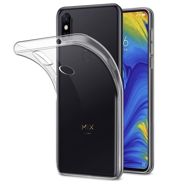 For Xiaomi Mi Mix 3 Mix 2 2s Case Cover Ultra Thin Slim TPU Case For Xiaomi Mi Mix 3 Mix 2 2s Fitted Cases TPU Cover