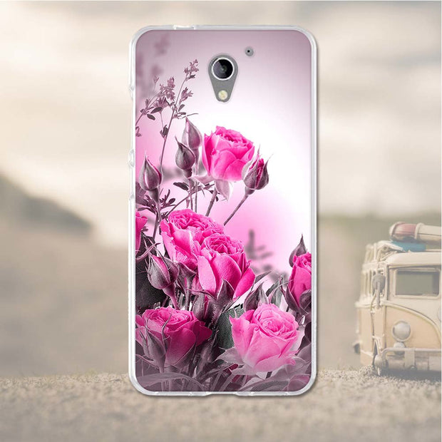 For ZTE Blade A510 BA510 Case Silicone Cover For ZTE Blade A510 Cases 3D Relief Soft TPU Mobile Phone Bags For ZTE Blade A510