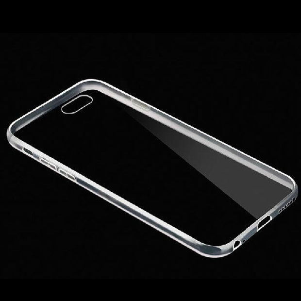 For IPhone 4s 5s 5SE 6 6S 7 8 Plus X Original Crystal Clear TPU Case Transparent Phone Back Cover Mobile Coque Skin Silicone