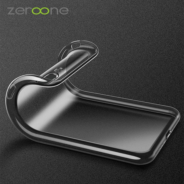 For IPhone 7 Case Drop Protection Ultrathin Soft TPU Clear Case For IPhone XSmax XS XR X 8 8Plus 7 6 6S Plus Brand Phone Cover