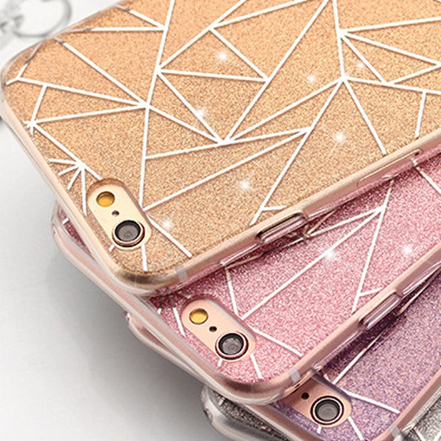 For Iphone 8 Plus Case Luxury Rhinestone For Women Glitter Bling Capas For Iphone 5 5S SE 6 6S 7 Plus 8Plus X XS MAX XR Cases