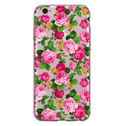 For Iphone XS Max XR X 8 7 6 6S Plus 5 5S SE 5C 4S Case Soft TPU Silicone Cute Color Bird Flamingo Rose Flower Phone Back Cover