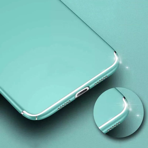 For Iphone X Case Hard PC Matte Phone Cases For Iphone Xs Max Case Transparent Solid Color Cover Shell For Iphone Xr Cover Case