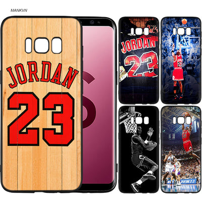 Forever Legend Michael Jordan 23 Scrub Silicone Soft Cases Cover Shell Fundas For Samsung Galaxy S9 S8 Plus S7 S6 Edge S8+ S9+ S