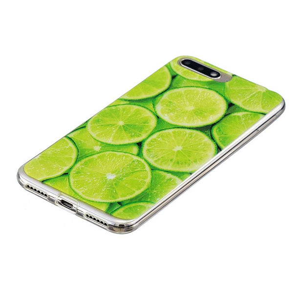 Fresh Fruit Lemon Soft Shell Mate 10 Lite For Huawei P20 P10 P9 P8 Lite 2017 Cases Coque Funda For Honor 5C 6A 6C 6X 7C 8 9 Capa