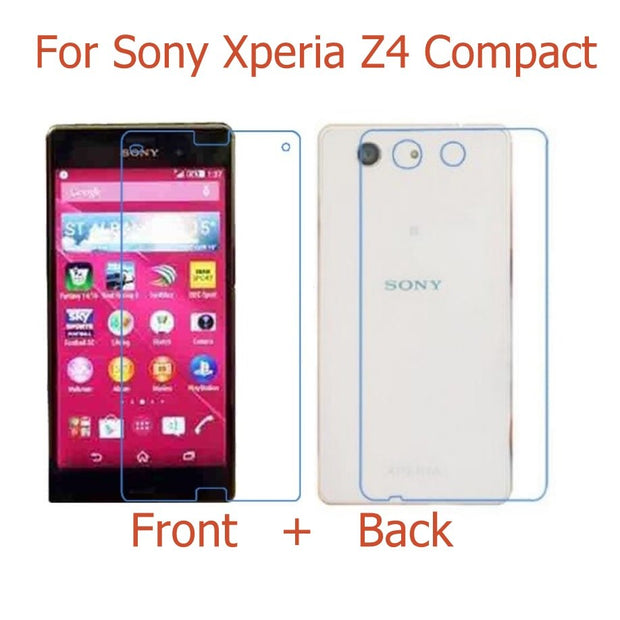 (Front+Back ) Full Body HD Clear Glossy & Matter Film For Sony Xperia Z1 Z3 Z4 Z5 Mini Compact / Z2A /Z3V Screen Protector Film