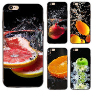 Fruit Pattern Phone Back Case Cover For IPhone 4 5 5S 6 6S 7 Plus