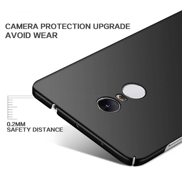 Full Cover Hard Phone Case Cover For Redmi 6 6A 6Pro 5 5 Plus Note 5 4 4X 5A Shockproof Case For Xiaomi Mi6X Max 2 Matte PC Case