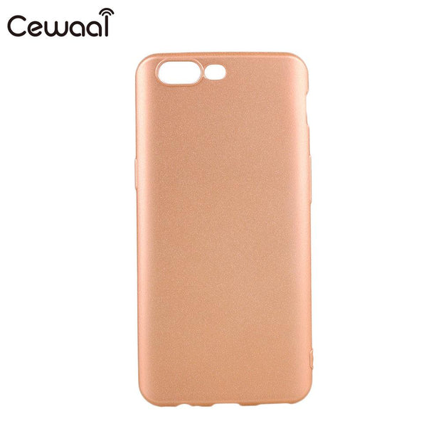 Full Cover Ultra Thin Mobile Cell Phone Matte Soft Shell Case Skin For One Plus5