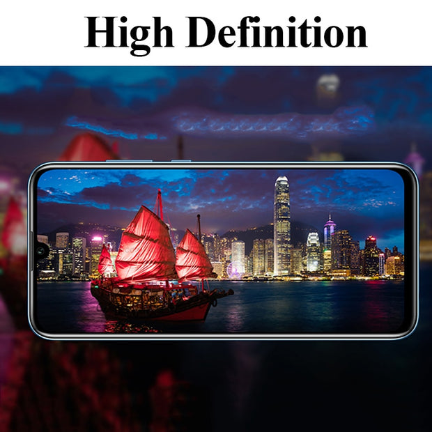 Full Cover Tempered Glass For Huawei Honor 10 Lite Screen Protector 2.5D 9H Case For Honor 10 Lite Protective Film Honor10 Glass