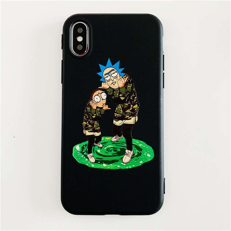 rick and morty case iphone xr