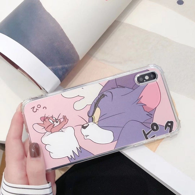 coque iphone xs tom jerry