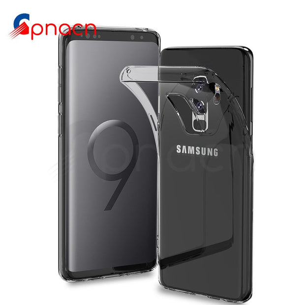 GPNACN Transparent Soft TPU Case For Samsung Galaxy S9 S8 Plus S7 Edge Note 8 9 A3 A5 A7 2016 2017 A8 Plus 2018 Thin Cases Cover