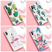 GerTong Animals Printing Case For IPhone 5 5s SE 6 6s 7 8 Plus X XR XS Max Soft Phone Cover For IPhone 7 Transparent Ultra Thin