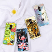 GerTong Case For Xiaomi Redmi Note 6 Pro 6 6A 6pro S2 Soft TPU Pattern Cover For Xiaomi Mi6X MiA2 Pocophone F1 Back Cover Fundas