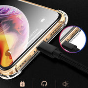 GerTong Clear Soft TPU Protective Case For IPhone X 10 7 8 6 6s Plus Phone Housing Coque For IPhone Xs Max XR Back Cover Fundas