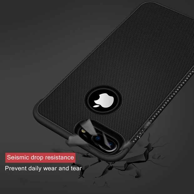 GerTong Matte TPU Frosted Silicon Phone Cover For IPhone XR X XS Max Case Shell Soft Coque For IPhone Xs 8 7 X 6 6S Plus Fundas