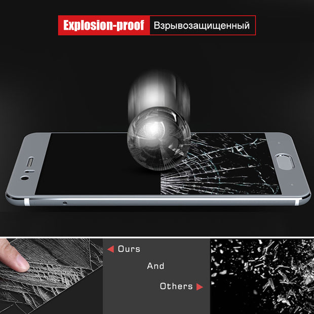 GerTong Tempered Glass Full Cover For Huawei P20 P10 Lite Mate 10 Pro Nova 3 3i Premium Screen Protector For Huawei Mate 10 Pro