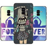 Girls Best Friends Phone Case For Samsung Galaxy J4 J6 Plus J8 2018 Soft Silicone Black Case For Galaxy A6 A8 Plus 2018
