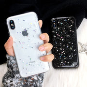 Glitter Shining Phone Case For IPhone X 8 7 6S 6 Plus 5 5S SE Cases Bling Star Cute Clear Soft Cover For Iphone XS Max XR Coque