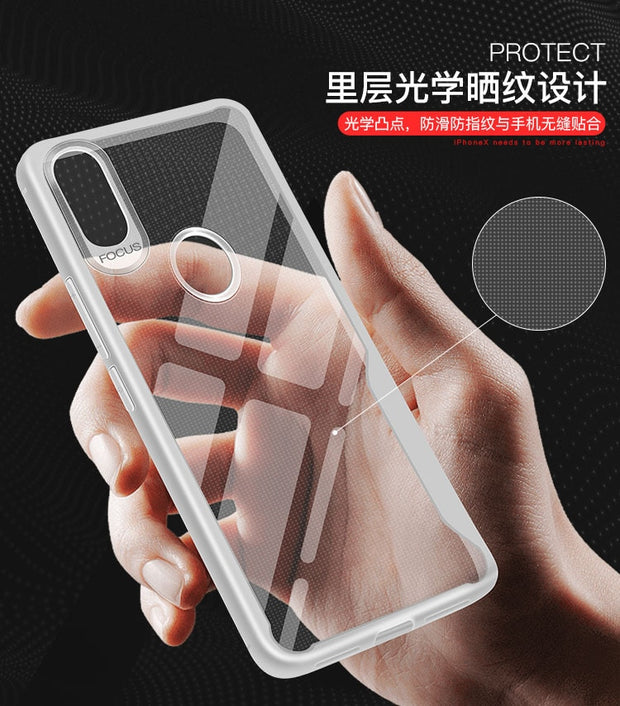 H-shirley Crystal Phone Shell Mobile Phone For Xiao Mi 6 Simple Ultra Thin Transparent Soft Cases Silicone TPU Back Cover