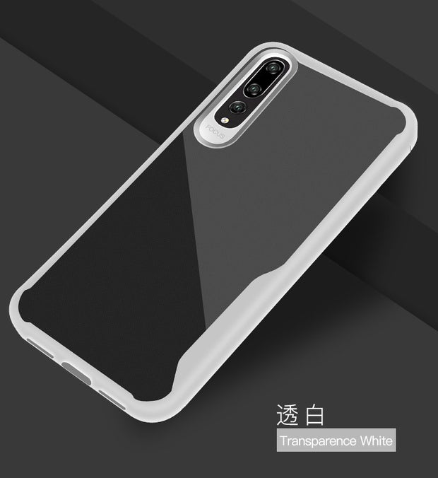 H-shirley Crystal Phone Shell Mobile Phone For Huawei P20 Pro Simple Ultra Thin Soft Rubber Tpu Back Cover For Y9 2018/NOVA 3