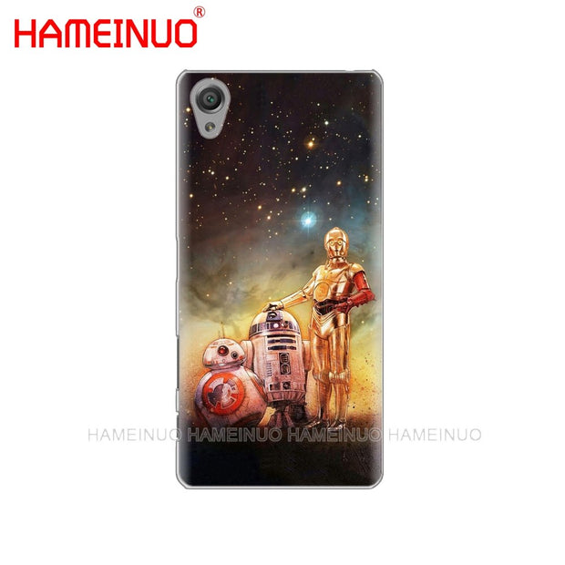 HAMEINUO Darth Vader Star Wars Child Cover Phone Case For Sony Xperia Z2 Z3 Z4 Z5 Mini Plus Aqua M4 M5 E4 E5 E6 C4 C5